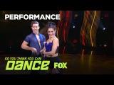 Taylor &amp Kiki's Ballroom Performance  Season 14 Ep. 14  SO YOU THINK YOU CAN DANCE