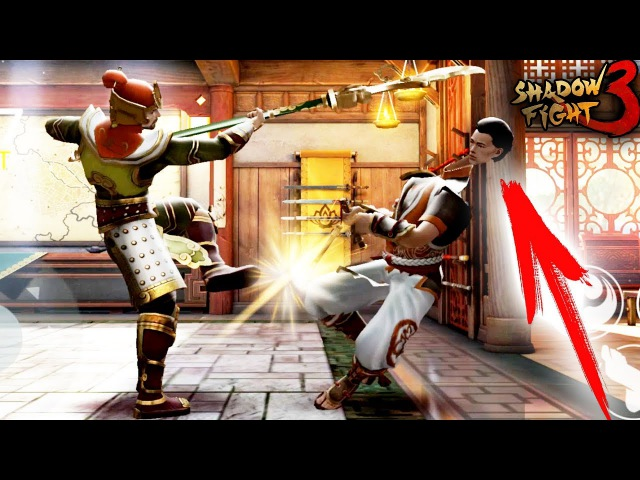 Shadow Fight 3 ДИНАСТИЯ АКТ 2 прохождение бой с тенью