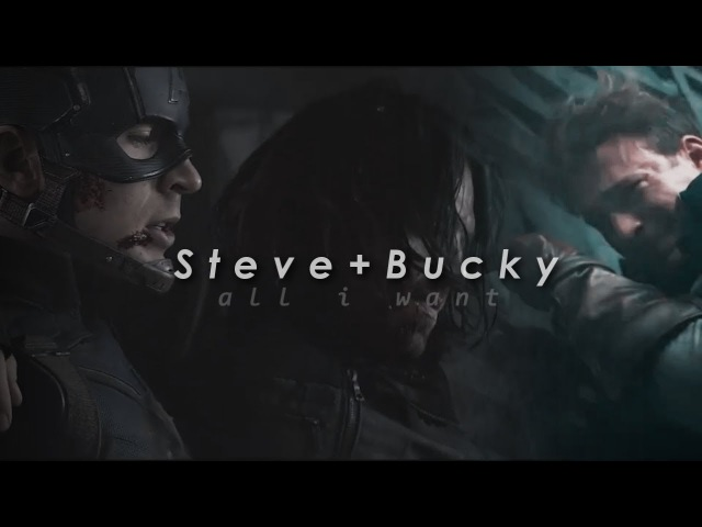 Steve x bucky [stucky] all i want