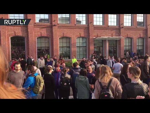 Около 3 тыс. человек эвакуированы из офиса «Яндекса» в связи с угрозой взрыва