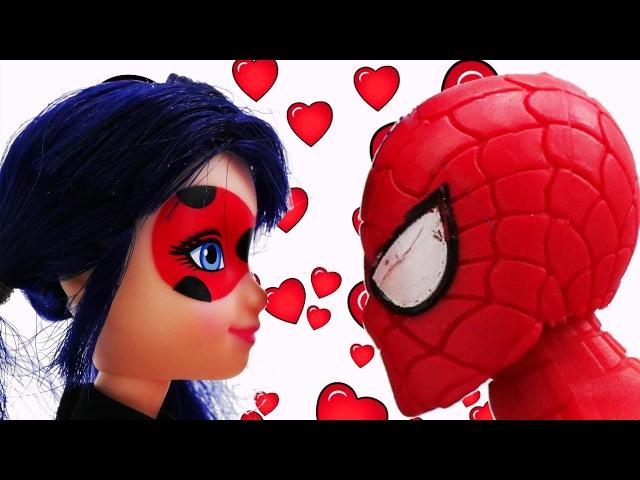Мультик ЛедиБаг в НЬЮ ЙОРКЕ: Леди Баг и ЧеловекПаук ВМЕСТЕ💘!? Видео для девочек...