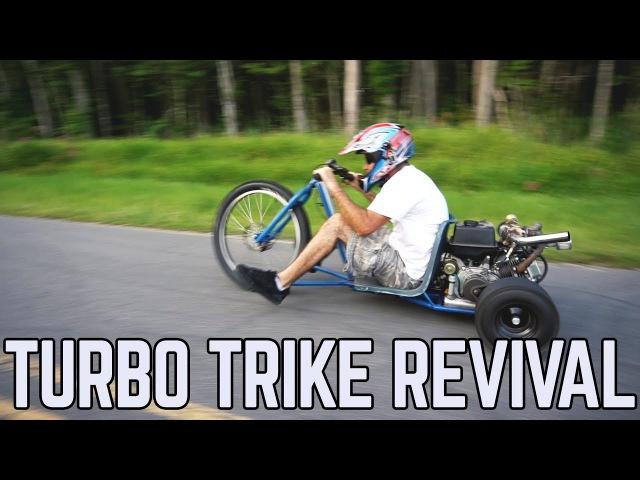 420cc Turbo Trike Revival Tike Trike Mods