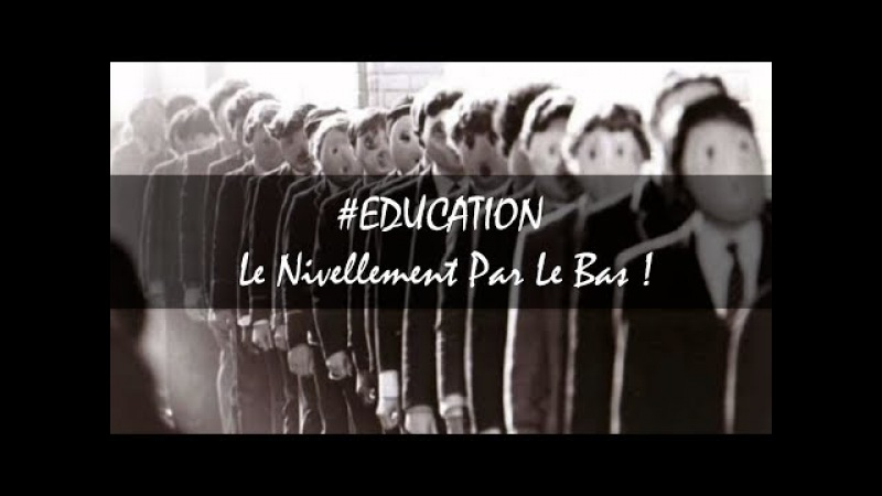 EDUCATION Le Nivellement Par Le Bas VOF Proper Gander