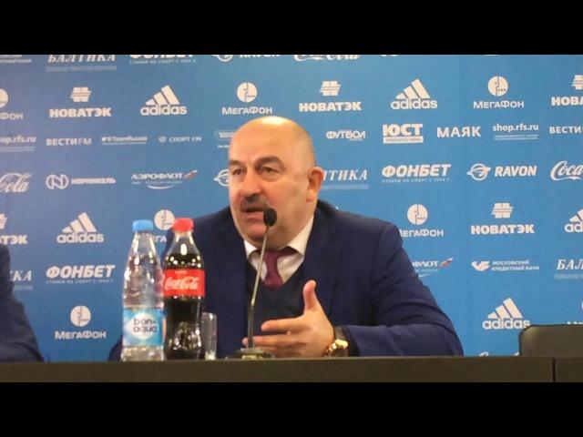 Станислав Черчесов: Кокорин и Смолов впервые за долгое время вышли как игроки од...