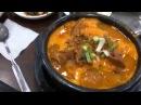 Обед в Корейском кафе