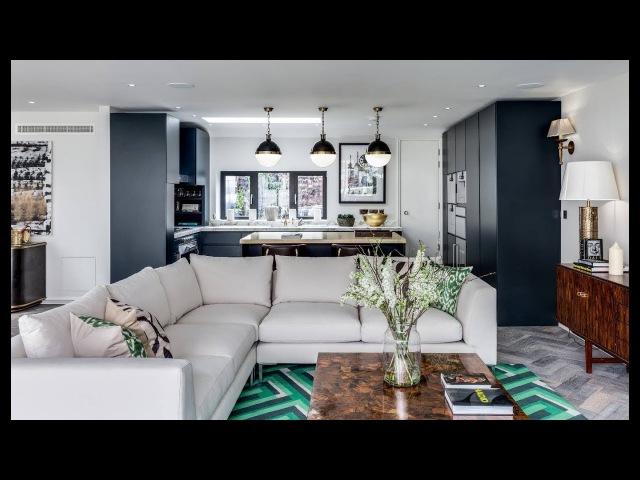 Дизайн кухни, совмещенной с гостиной: фото современных интерьеров