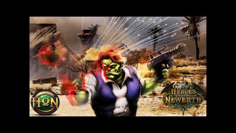 HoN 4.1 Flint Beastwood Gameplay - Immortal - Vip_CaSaNoVa - Rank Legendary