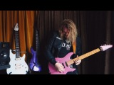 What happens when you put 4 crazy guitar players playing 2 sick brands in 1 video