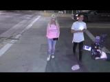 Tara Reid talks about new Sharknado 5 outside TAO Restaurant in Hollywood