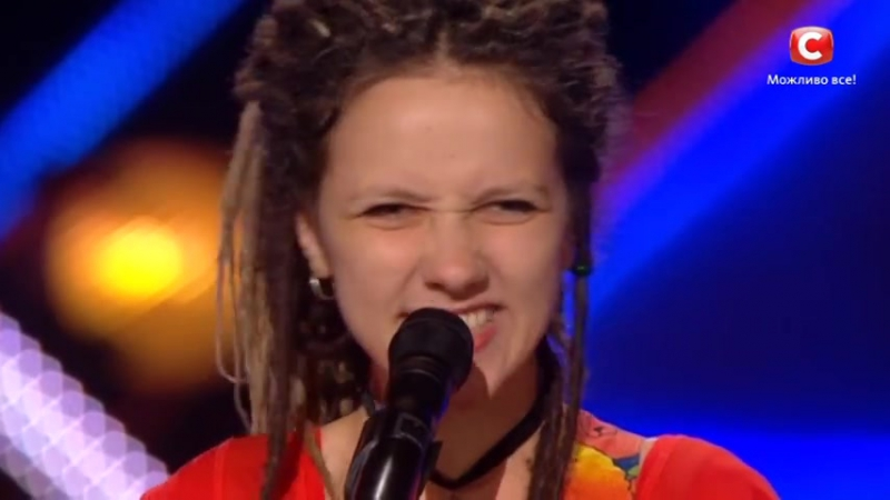 Amazing performance! Girl with dreadlocks sang Non Blondes - What`s Up on X-Factor