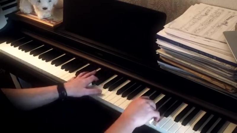 Королек - птичка певчая (фортепиано) 'Çalıkuşu'.mp4