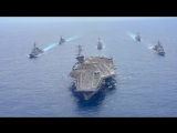 Авианосная группа в составе авианосца USS Carl Vinson (CVN 70), ВМФ Японии и Южной Кореи
