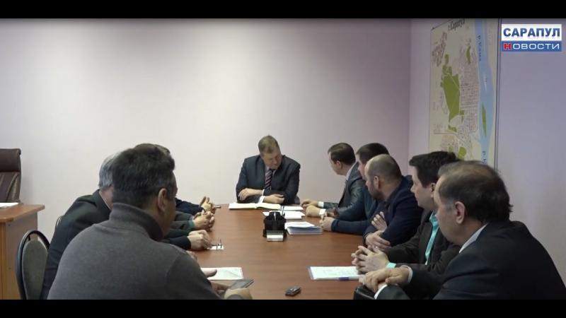 В Сарапуле прошло оперативное совещание руководителей предприятий ЖКХ и ресурсоснабжающих организаций