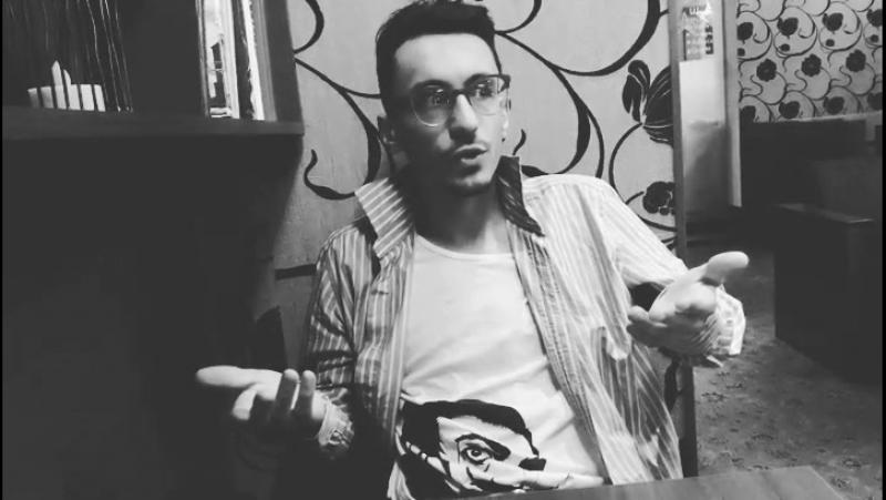 Даниил Филиппович -главный режиссёр минского театра Открытое пространство