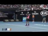 1xBet: Кинг-Конг на Australia Open