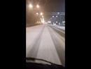 трасса М4 ДОН первый снег сегодня