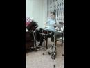 Алиса Мантрова на репетиции