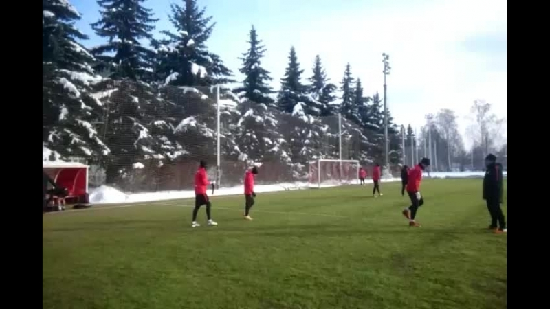 Тренировка в Тарасовке