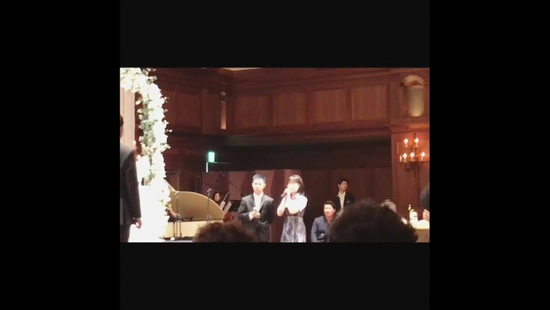 [170708] AKMU at the wedding in the Imperial Palace Hotel in Seoul