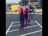 Дэдпул и Человек-Паук зажгли
