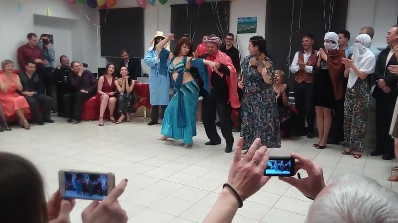 Часть 1. Елена и Ксения - восточный танец