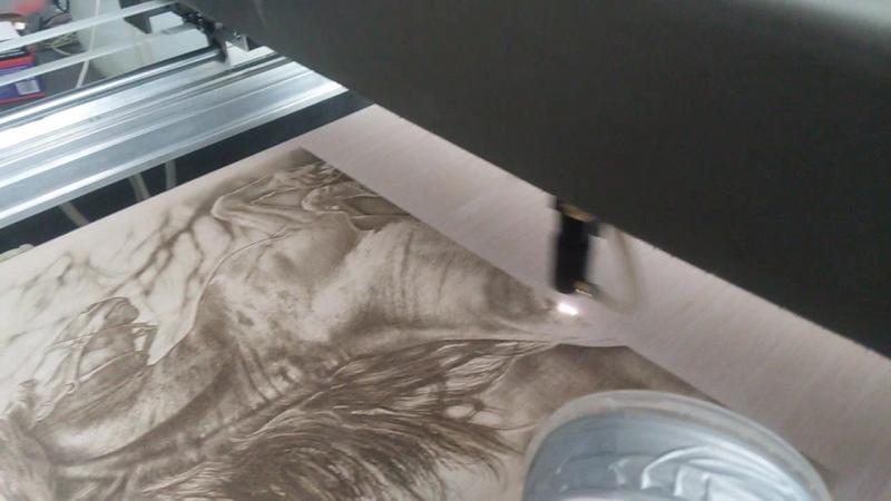 пирография лазерм