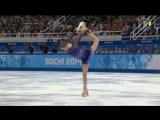 Юлия Липницкая Сочи 2014 Короткая программа Фигурное катание