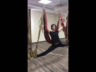 Наш тренер по Йоге в Гамаках, Анастасия