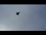 Сверхзвуковой самолет над Ижевском