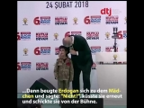 Эрдоган пообещал ребенку похороны с почестями
