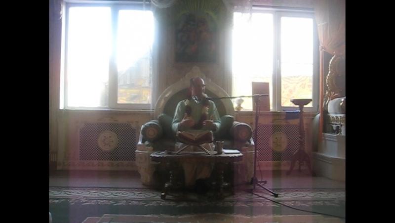 Заключительная часть воскресной лекции Сурабхи Гопала прабху***ОМСК 29.10.17.