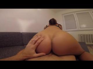 Hot girlfriend enjoys teasing and riding hard !