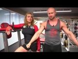 Фитнес для девушек Как накачать большую сексуальную грудь девушке