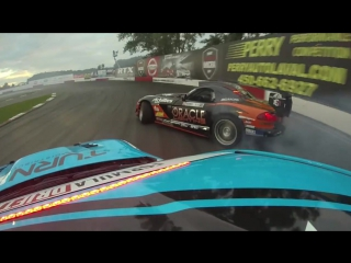 #FDCanada Dai Yoshihara chasing Dean Kearney last year at Formula Drift Canada