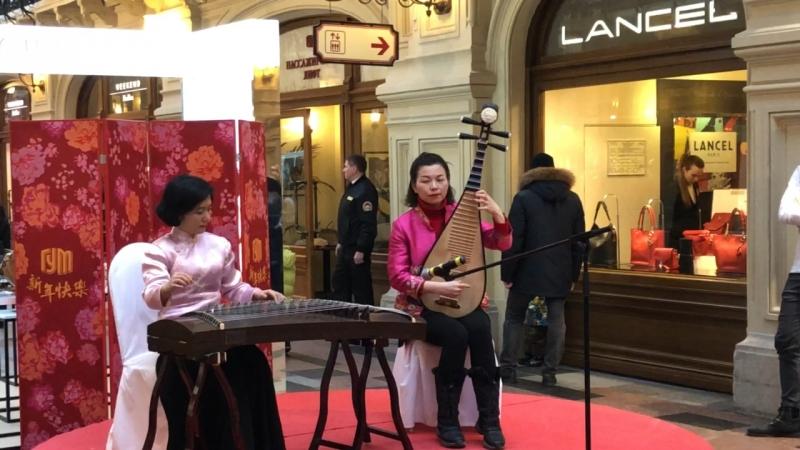 Китайский Новый год в ГУМе