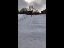 24.02.2018г. Дамир. На ледянке. Очаковские пруды.