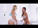 Sexy Lesbians Kissing After Sexy Porn Scene StripTease