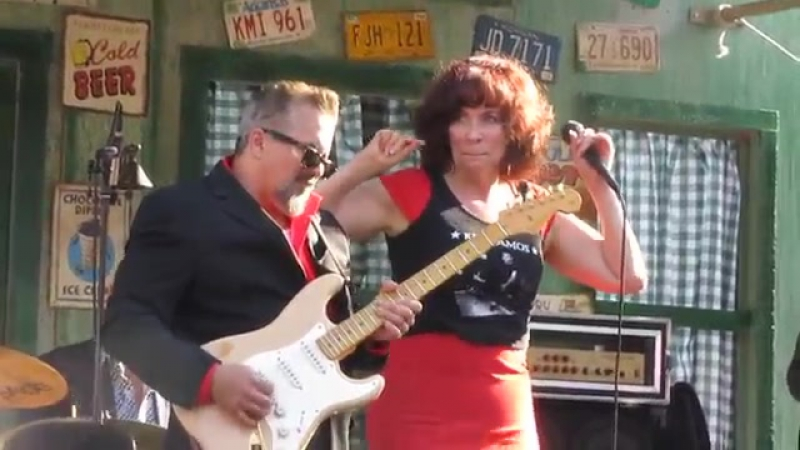 Kid Ramos with Janiva Magness (and Zach Zunis!) LIVE at Doheny! 2013