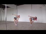 Алина Колегова и Кристина Думанская, My Pole Space