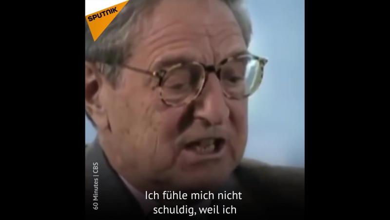 Soros, der edle Menschenfreund