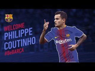 Знакомство с новичком Барселоны!