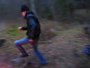 Бегущий по лесу