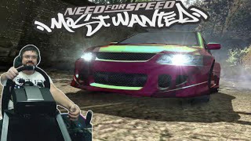 Соний на Evo VS Чёрт на Lambo и зажигательные погони 4 уровня на Субаре Need for Speed Most Wanted