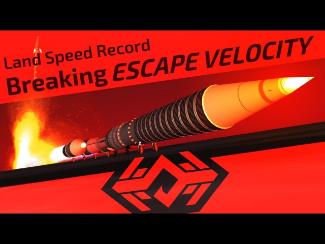 KSP Land Speed Record - Breaking ESCAPE VELOCITY [Part 3]