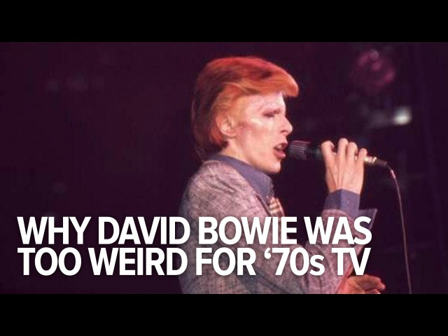 David Bowie Was Too Weird For 70s TV