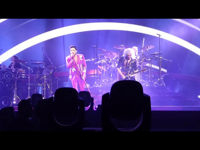 Queen Adam Lambert - Don't Stop Me Now Bicycle Race - Dublin - 25.11.2017