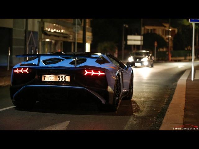 Lamborghini Aventador LP750-4 SuperVeloce w/ Factory Race Exhaust - Lovely Sounds !