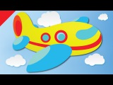 Vehicles Song for Kids Aeroplane, Fire Truck, Bicycle, Yacht ESL for Kids Fun Kids English