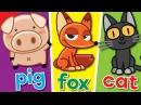 The Spelling Song Learn to Spell 3 Letter Words Kindergarten Preschool ESL Fun Kids English