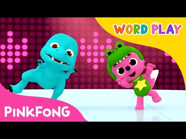Move Like the Dinosaurs | Word Play | Pinkfong Songs for Children
